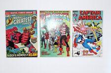 Lot Of Three Marvel's Comics Books