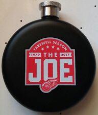 Detroit Red Wings Joe Louis Arena Farewell Season Jim Beam Flask *NEW*