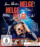 HELGE SCHNEIDER-LASS KNACKEN,HELGE! HELGE,DER FILM! HELGE LIFE!  BLU-RAY+CD NEU
