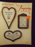 Hickory Hearts Cross Stitch Leaflet by Imaginating