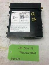 14-18 CHEVROLET CORVETTE C7 Z51 OEM XM RADIO CONTROL MODULE 84102334