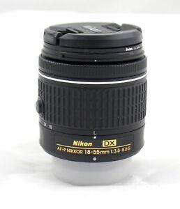 Nikon AF-P DX NIKKOR 18-55mm f/3.5-5.6G Camera Lens