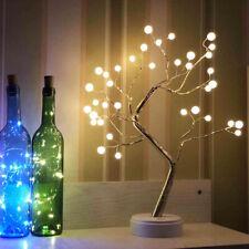 36 Pearl Bulbs Emulational Tree-Shaped Bonsai Light USB Or Battery E27 Christmas