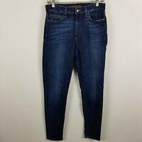 Joe's Jeans Sky Skinny Womens Dark Wash Blue Jeans Size 29