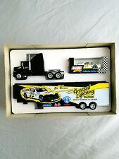 1993 Ed Berrier 1/64 #22 Greased Lightning Race Team Hauler Truck & Car Action