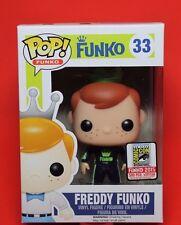 FREDDY FUNKO #33 TALLADEGA NIGHTS~SDCC 2015~BLUE RACING SUIT~POP VINYL FIGURE 🎀