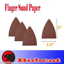 Pack 25 Sandpaper Oscillating Multi Tool Fein 80 Grits Finger Sand Paper Hook Lo