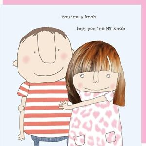 Funny You're MY Knob Valentine or Anniversary Card – Rosie Made A Thing