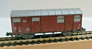 Fleischmann N 2470 Covered Goods Wagon Barrel Car 132 3 109-9 DB