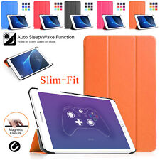 "Samsung Galaxy Tab S2 9.7""/S 10.5"" Inch Leather Smart Flip Stand Slim Case Cover"