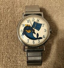 Vintage Men's Star-Kist Charlie the Tuna Watch - 1977 Wind Up