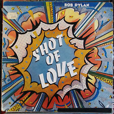BOB DYLAN SUZY YUGOSLAVIA LP: SHOT OF LOVE (Suzy ‎– CBS 85178)