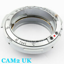 Kipon Contax Rangefinder RF S Lens to Leica M39 L39 39mm Screw Mount Adapter