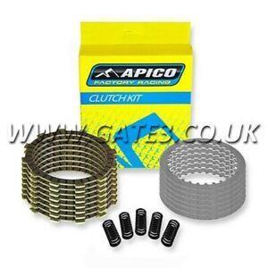 KAWASAKI KX250F KXF250 2004-2020 Quality Apico Clutch Plate & Spring Kit