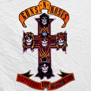 Guns N' Roses Embroidered Big Patches Appetite For Destruction Cross & Banners
