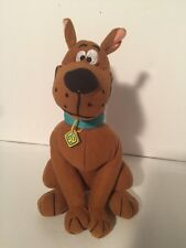 "Scooby-Doo Plush Dog Great Dane Velvetty fabric 9"" tall"