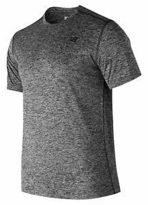New Balance Men's Core Heathered Tee Grey