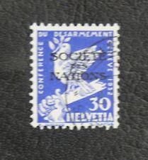 TIMBRES DE SUISSE : 1932 YVERT TIMBRE DE SERVICE N° 81 Oblitéré  - TBE