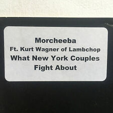 MORCHEEBA - WHAT NEW YORK COUPLES FIGHT * 10 INCH VINYL * FREE P&P UK * LTD ED *