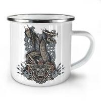 Japanese Monster NEW Enamel Tea Mug 10 oz | Wellcoda