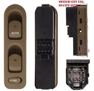 NEW OEM Saturn L LS LW Series Driver Master Power Window Switch Oak 90363746