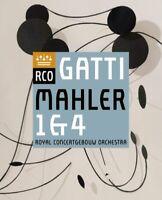 Royal Concertgebouw Orchestra - Mahler : Symphonies Nos. 1 & 4 Neuf DVD