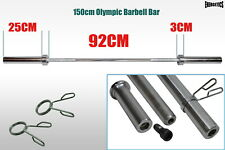 Olympic Weight Barbell Bar - Dumbell  - Tricep Bar - Ez Curl Bar - Great Ranges
