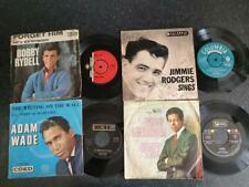 "4 x 7"" Job Lot ADAM WADE/BOBBY GOLDSBORO/BOBBY RYDELL/JIMMIE RODGERS 45"