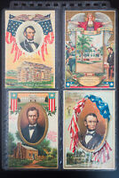 US 10 Early Postcards Including Lincoln