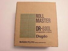 Duplo Rollmaster DR 630 L 2. Stk Pack