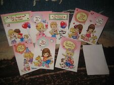 2010 Precious moments Valentines with envelopes
