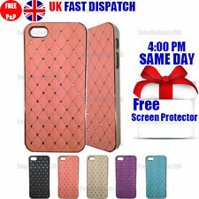 Apple Jewelled Rigid Plastic Mobile Phone Cases/Covers