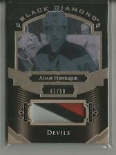 2016-17 Upper Deck Black Diamond Adam Henrique 3 Color Jersey Patch #ed 47 / 50