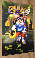 Blinx The Time Sweeper very rare Promo Poster 84x59.5cm Xbox 2002