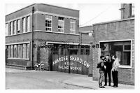 pt9614 - Sheffield , Ambrose Shardlow Works , Yorkshire - photograph 6x4