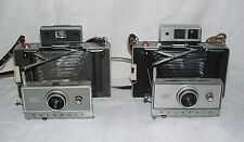 Two Vintage Polaroid Land Cameras - 240 Automatic & 350 Automatic