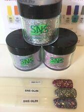 SNS Nail Dipping Powder NEW X 3 PreBonded: BULK LOT Freepost Australia GLITTER