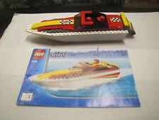 Lego 4643 Lego City Speedboat with Mini Figures