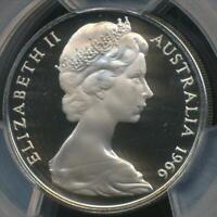 Australia, 1966 Twenty Cents, 20c, Elizabeth II - PCGS PR68DCAM (Proof)