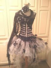 DIA DE LOS MUERTOS, Women, costume, Day of the dead Burlesque Sz M
