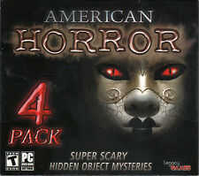 DARK MYSTERIES THE SOUL KEEPER Hidden Object AMERICAN HORROR 4 PACK PC Game NEW