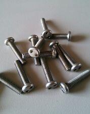 "#8 X 3/4"" Round Head Snake Eye Security screw (100pcs) Stainless"