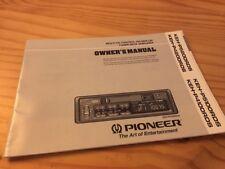 Pioneer KEH P5200 P4200 P5100 P4100 radio del coche folleto uso modo empleo