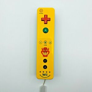 Official Nintendo Wii Wiimote Remote Bowser Motion Plus Controller