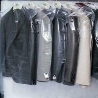 20pcs Dust Cover Garment Storage Organizer Bag Wardrobe-Hanging-Clothing-Ba Z3L9