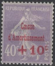 "FRANCE STAMP TIMBRE N° 249 b "" CAISSE AMORTISSEMENT VARIETE "" NEUF xx TTB K223"