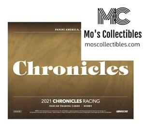 2021 Panini Chronicles Racing 8 Box Half Case Group Break Alex Bowman