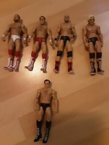 WWE WWF AEW Four Horseman Larry Zbyszko Mattel Elite Series Wrestling Figures