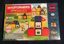 Magformers 28 Piece Wow House Set - Nip