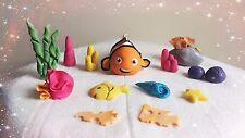 Finding NEMO Handmade Edible Cake Topper Birthday Baby shower Decoration set